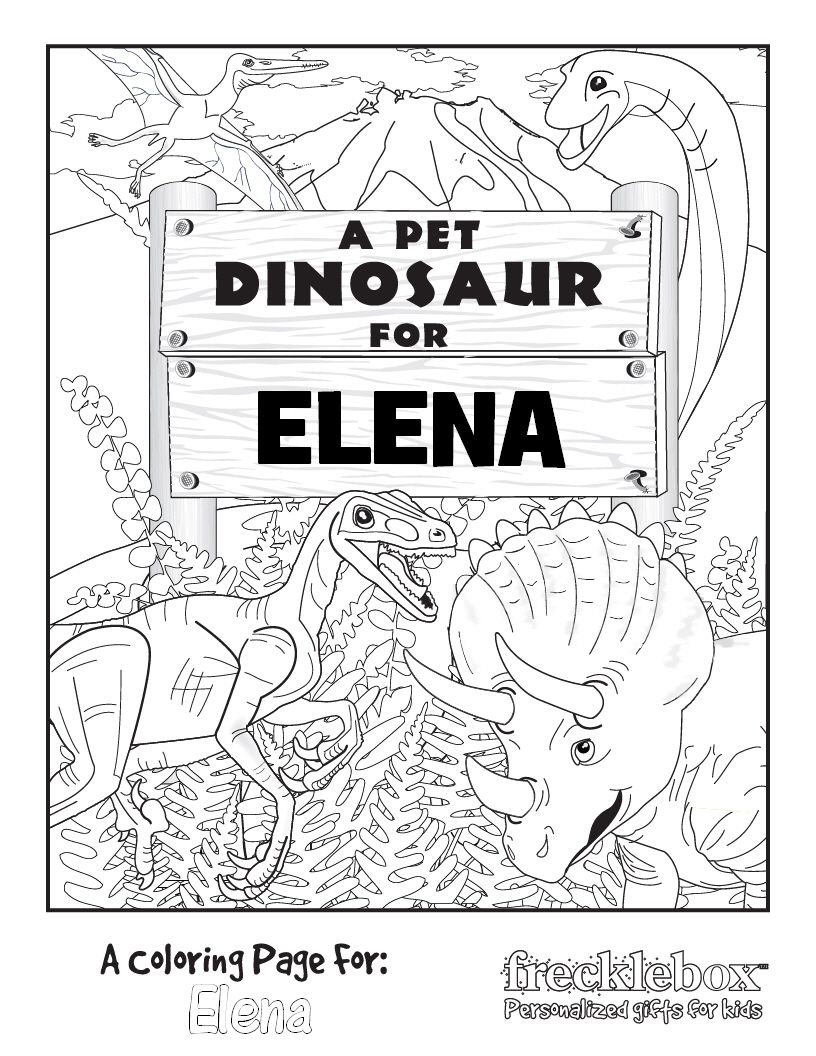 Customizeable (insert your child\'s name) Coloring Page | back to ...