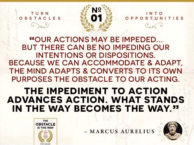 Image Result For Marcus Aurelius Quotes The Obstacle Is The Way