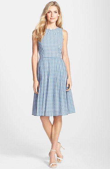 Nordstrom Gingham Dress