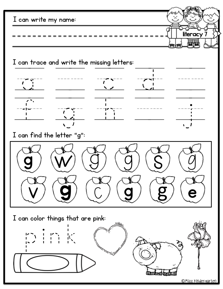 Kindergarten Morning Work | Morning work, Kindergarten morning ...
