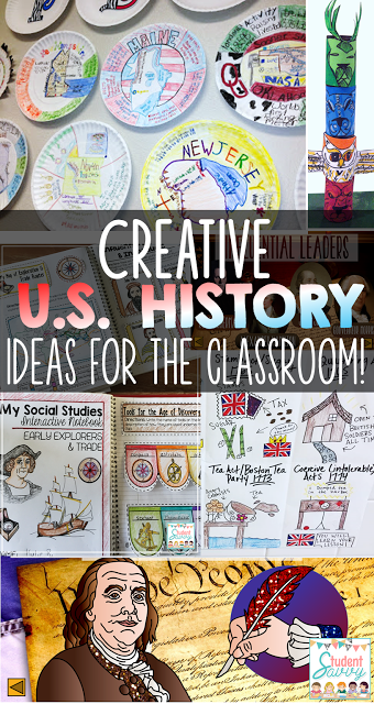 United States History Activities That Your Students Will Love