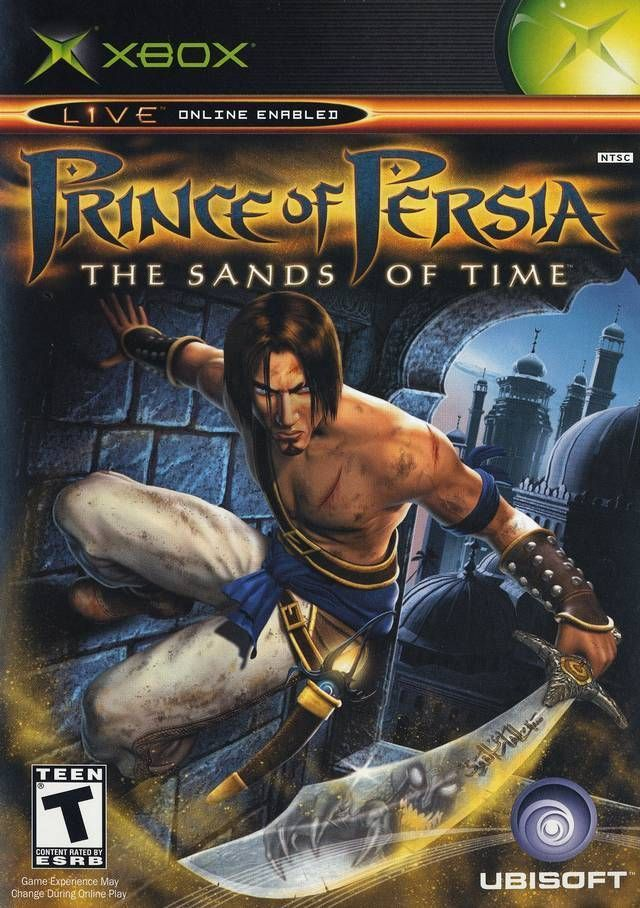 Prince Of Persia The Sands Of Time Microsoft Xbox 2003 Prince Of Persia Ps2 Games Gamecube Games