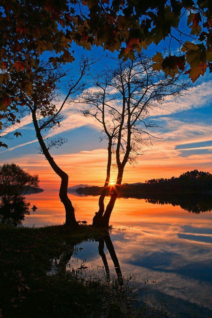 Lake Sunset Beautifulnature Naturephotography Nature Photography Sunset Lakes Fotografi Alam Pemandangan Fotografi Pemandangan