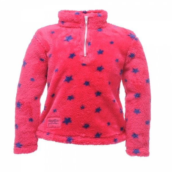 Regatta Snuggle Polar Fleece pink stars. Perfect for cuddling up against the cold.