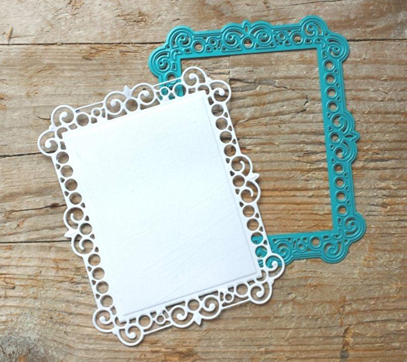 6002/0579 Noor! design Fantasy rechthoek + 2 frames   6002/0579 Noor ...