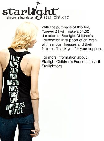 Help out The Starlight organization!