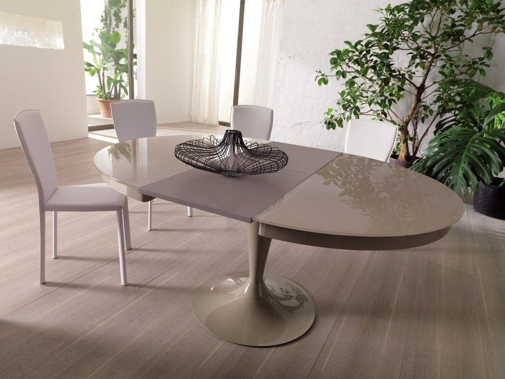 Eclipse Tavolo Rotondo Allungabile.Tavoli Tavolo Eclipse Da Ozzio Design New Apartment In 2019