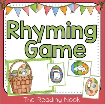 Spring Rhyming Game Rhyming games, Kindergarten and Kindergarten class - copy pre kindergarten certificate printable