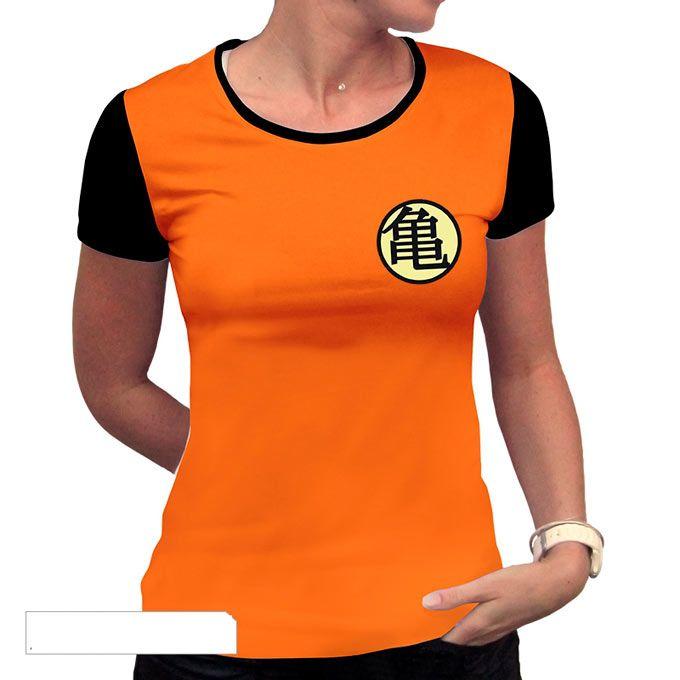 Camiseta chica Dragon Ball b6ffce52cc4f2