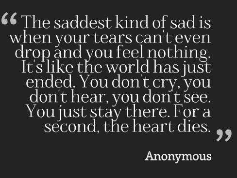Short Sad Quotes 65 Depressing Quotes About Love And Life Short Sad Quotes For