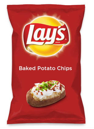 Wouldn't Baked Potato Chips be yummy as a chip? Lay's Do Us A Flavor is back, and the search is on for the yummiest flavor idea. Create a flavor, choose a chip and you could win $1 million! https://www.dousaflavor.com See Rules.