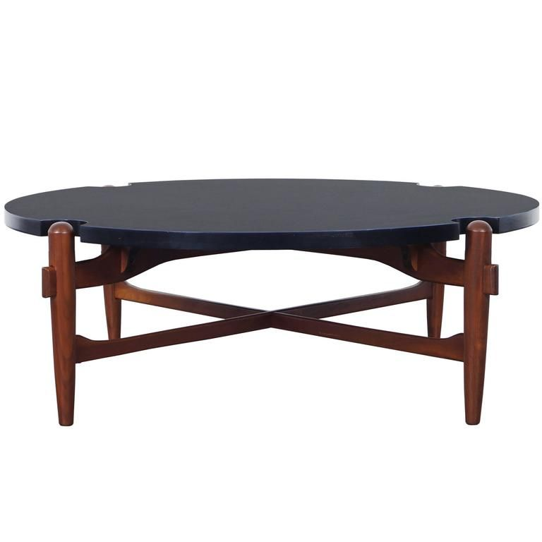 Vintage Coffee Table Attributed to Greta Grossman | From a unique collection of antique and modern coffee and cocktail tables at https://www.1stdibs.com/furniture/tables/coffee-tables-cocktail-tables/