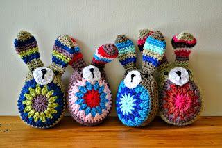 Zelf maken met HAAKKATOEN - Easter bunny / Paashaas