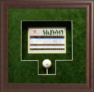 Remembering Your Winning Golf Game Www Thegreatframeup Com Golf Birthday Gifts Frame Custom Picture Frame