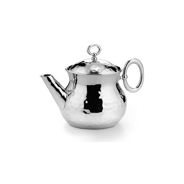 Omega Tea Pot ($242) ❤ liked on Polyvore featuring home, kitchen & dining, teapots, stainless teapot, tea pot, stainless tea pot, tea-pot and stainless steel tea pot