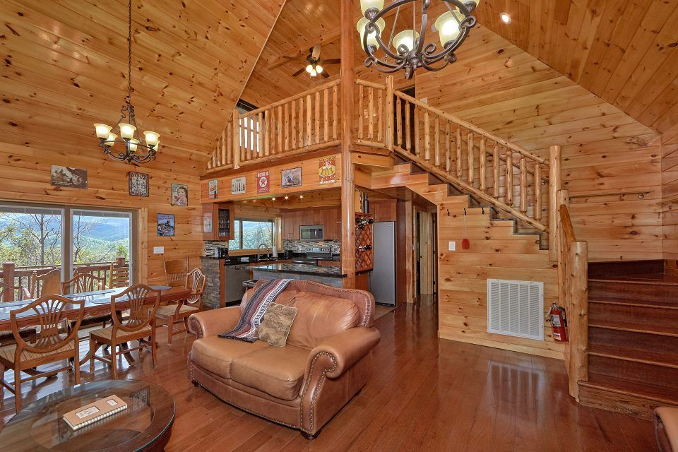 cozy 2 bedroom cabin with fireplace and loft  charming