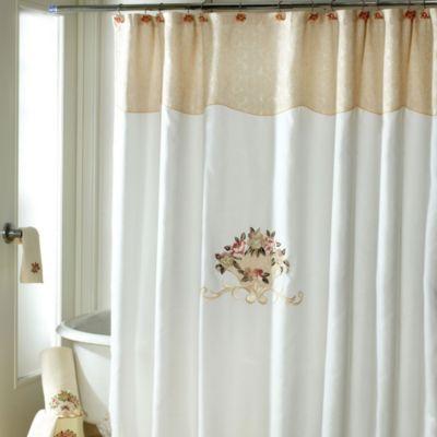 Avanti Rosefan 72 Inch X 72 Inch Shower Curtain Bedbathandbeyond