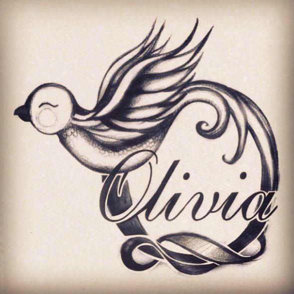 23++ Olivia name tattoo design information
