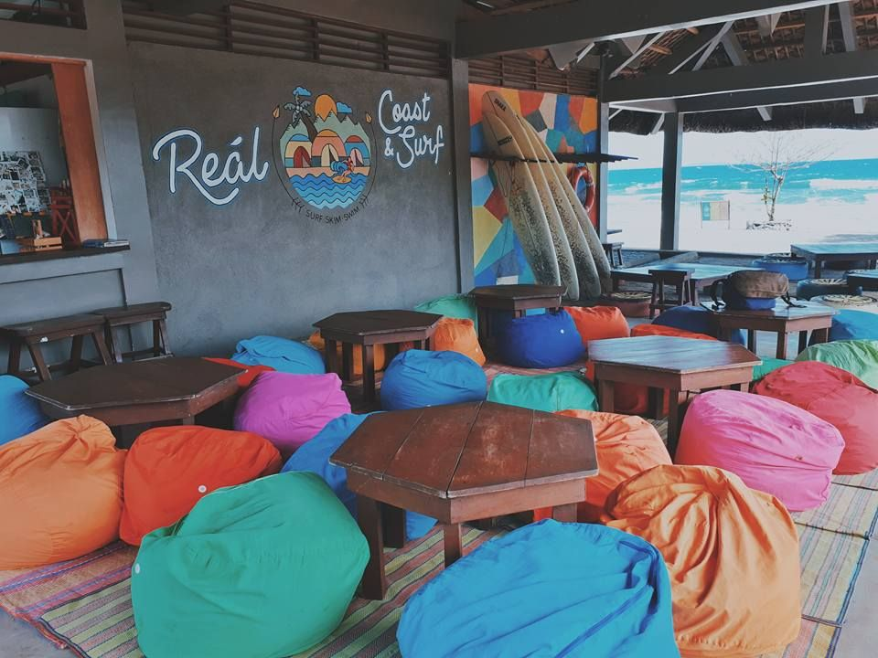 Real Coast And Surf Instagrammable Surfing Resort In Quezon Best Surfing Spots Surfing Resort