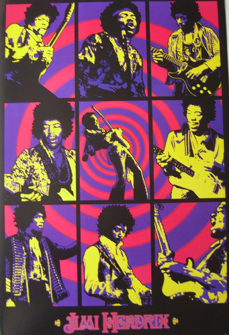 jimi hendrix psychedelic poster - Google Search | Jimi Hendrix ...