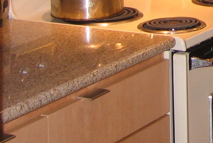 We Found Our Granite Countertop And Backsplash At A Building Salvage Store.  The Tops Were