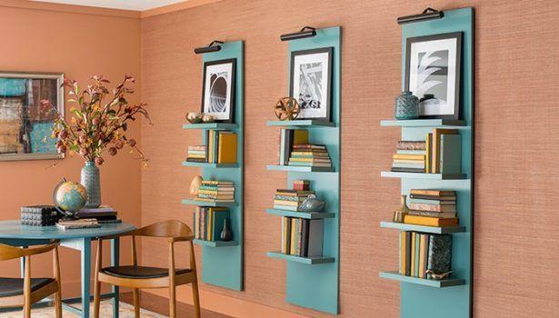 Furniture Modern Best Ladder Shelves Lowes Design Ladder Shelf