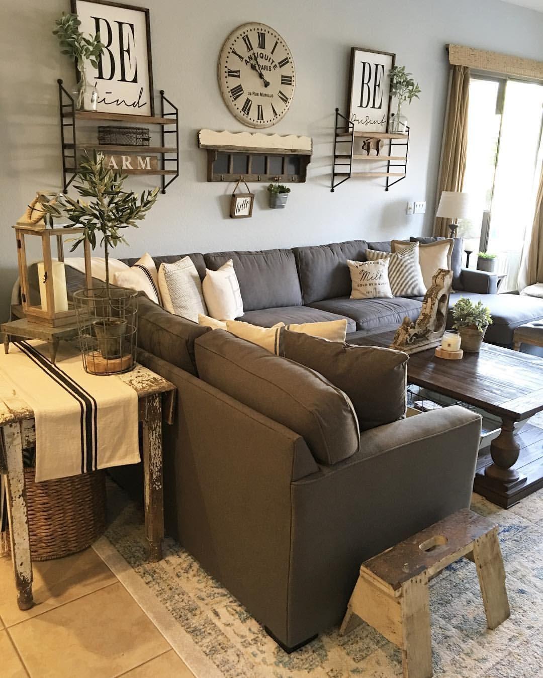 Pin by letícia on living pinterest living room modern farmhouse