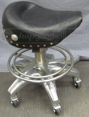 Unique Motorcycle Seat Stool Cars And Bikes Garage