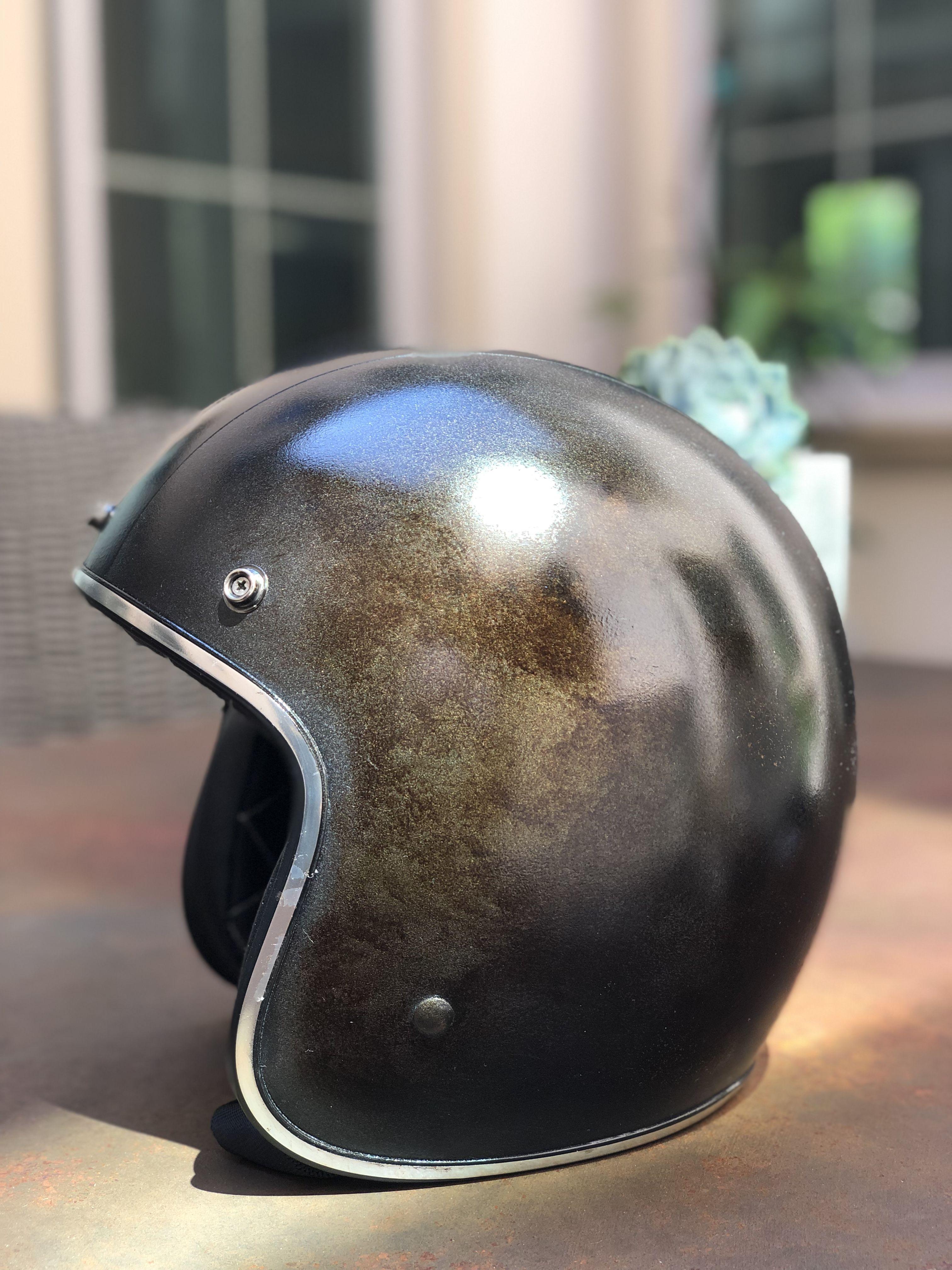 Custom Helmet For Fun Vintage Helmet Helmet Design Custom Helmets