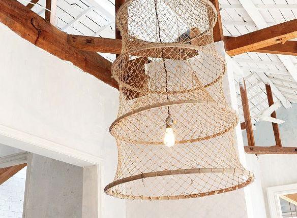 Fish Trap Light Shade Lamp Affordable Lamp Fishing Basket