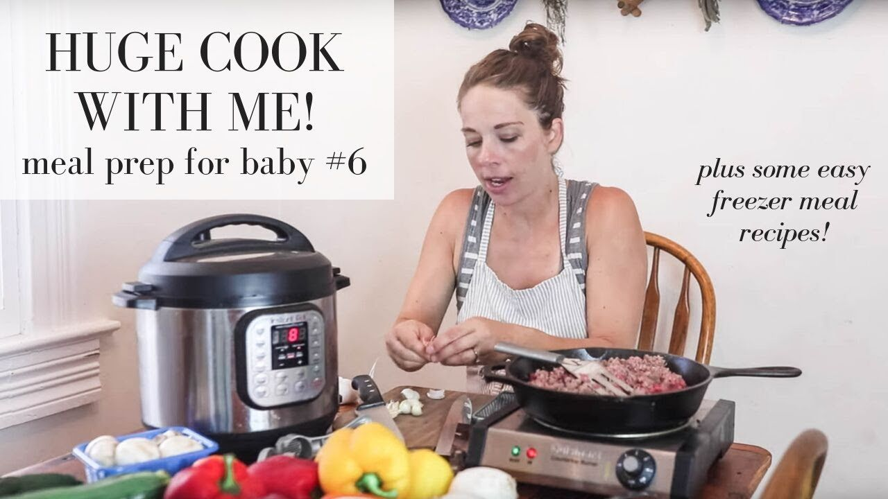 Meal Prep With Me Baby 6 Healthy Freezer Meals Youtube Freezer Meals Healthy Freezer Meals Easy Freezer Meals