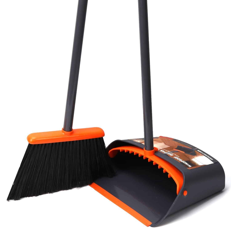 Treelen Broom And Dustpan Set With Lobby Broom Best Broom Broom And Dustpan Dust Pan Dust pan and broom sets