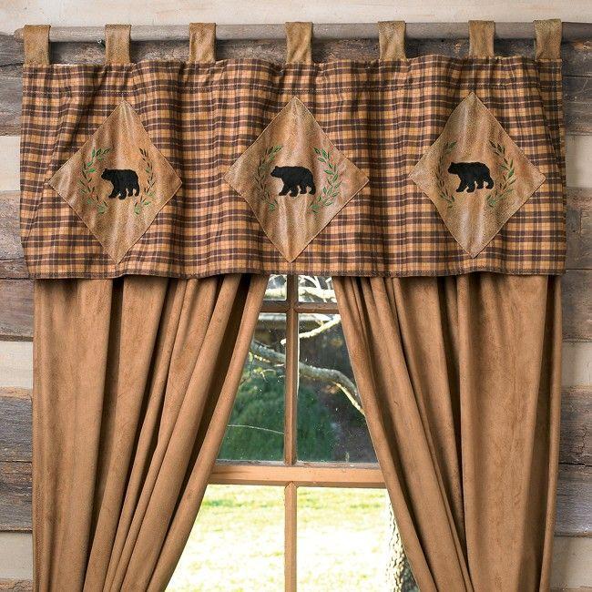 Farmhouse Kitchen Window Treatments Valances Fabrics