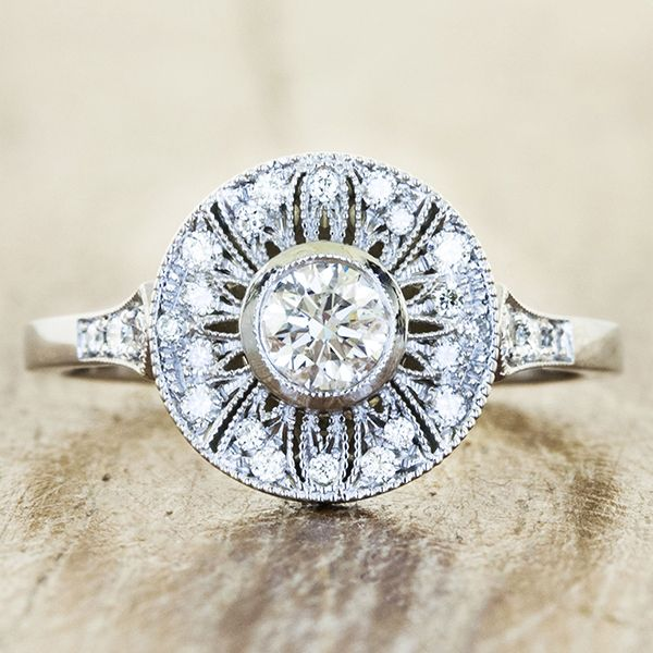 Unique Engagement Rings By Ken Dana Design In Nyc Vintage Inspired