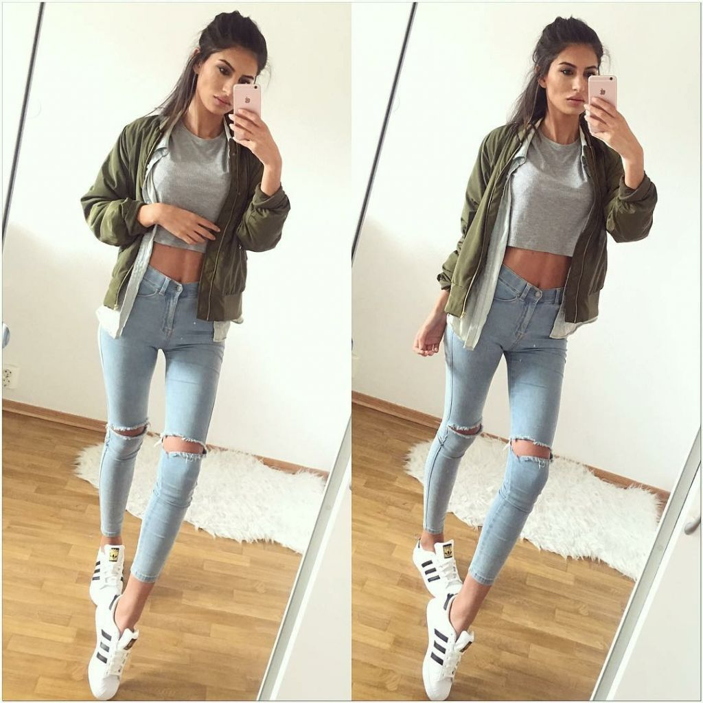 Teen Fashion Jeans Outfits Tumblr I39m Yarii Fashion Pinterest Jean Outfits Teen Fashion