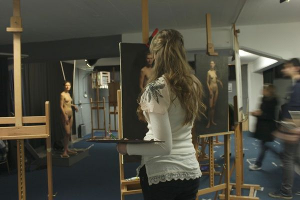Life Drawing Models Art