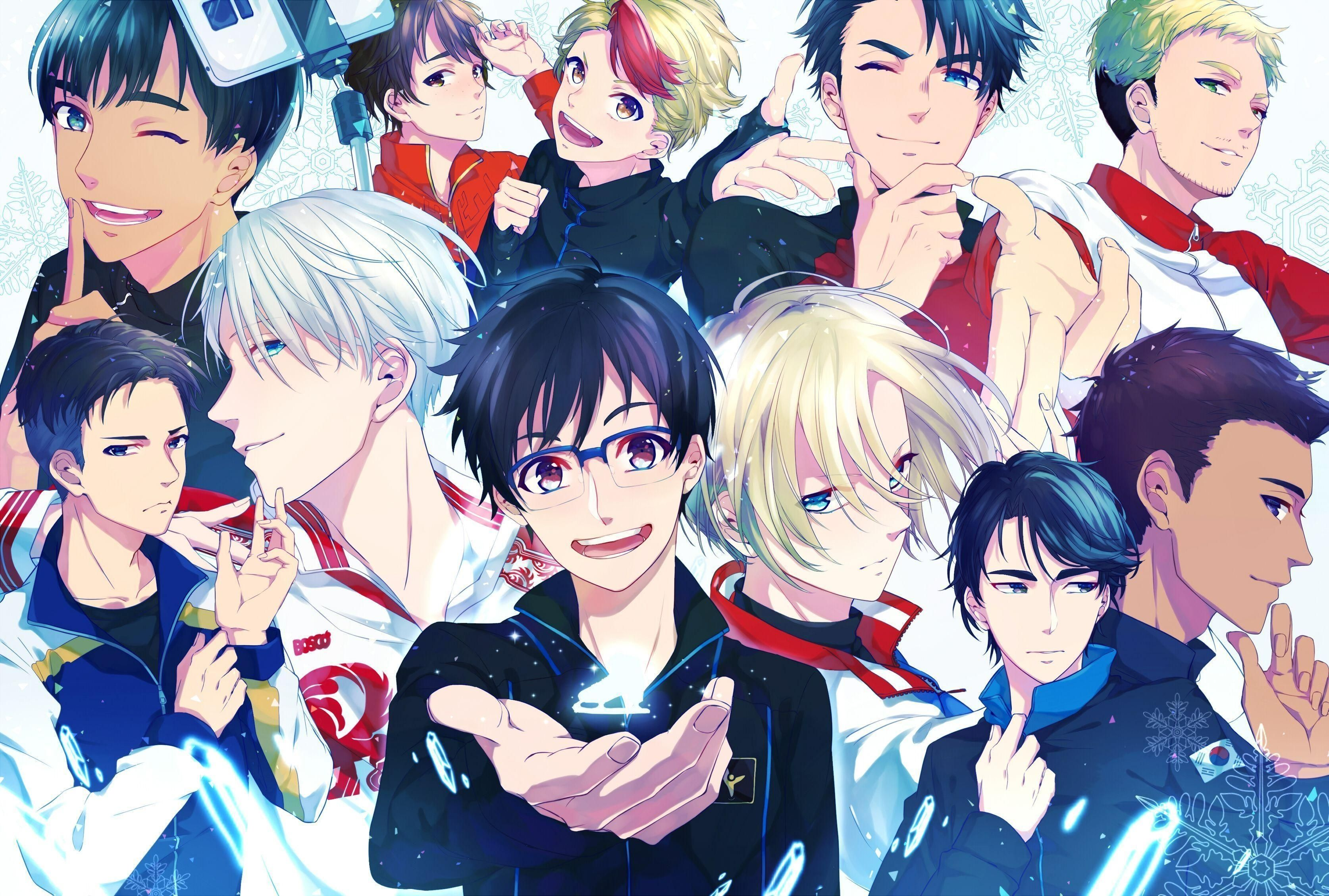 10 Most Popular Yuri On Ice Computer Wallpaper Full Hd 1920 1080 For Pc Background In 2020 Anime Computer Wallpaper Yuri On Ice Anime