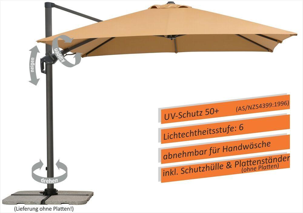 Ebay Sponsored Schneider Ampelschirm Sonnenschirm Rhodos Twist 3