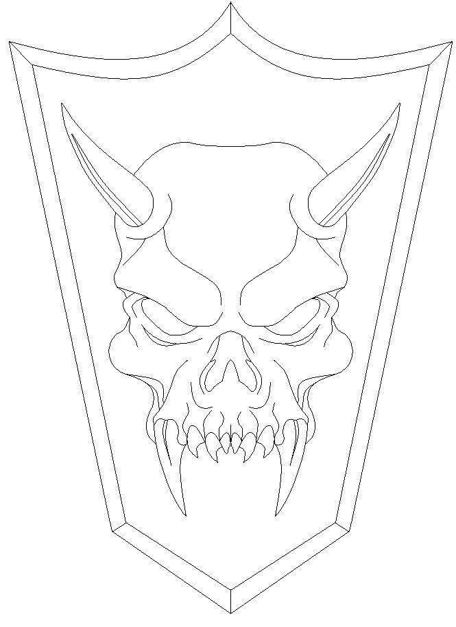 Pix For Easy Demons Drawings Trent Pinterest Demon Drawings