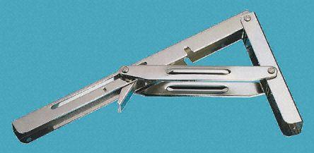 Stainless Steel Folding Bracket 305 X 165mm Sheet Metal