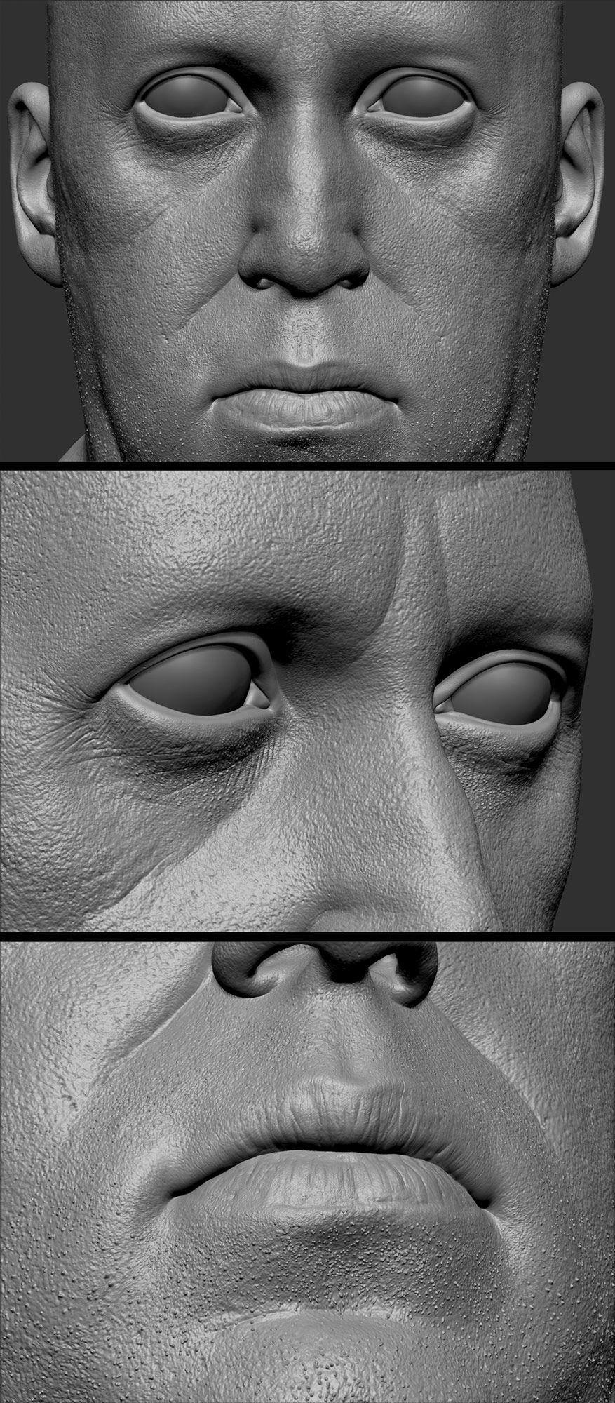 Rox29 Zbrush | mien bord | Pinterest | Anatomie, Schnitzen und Hals