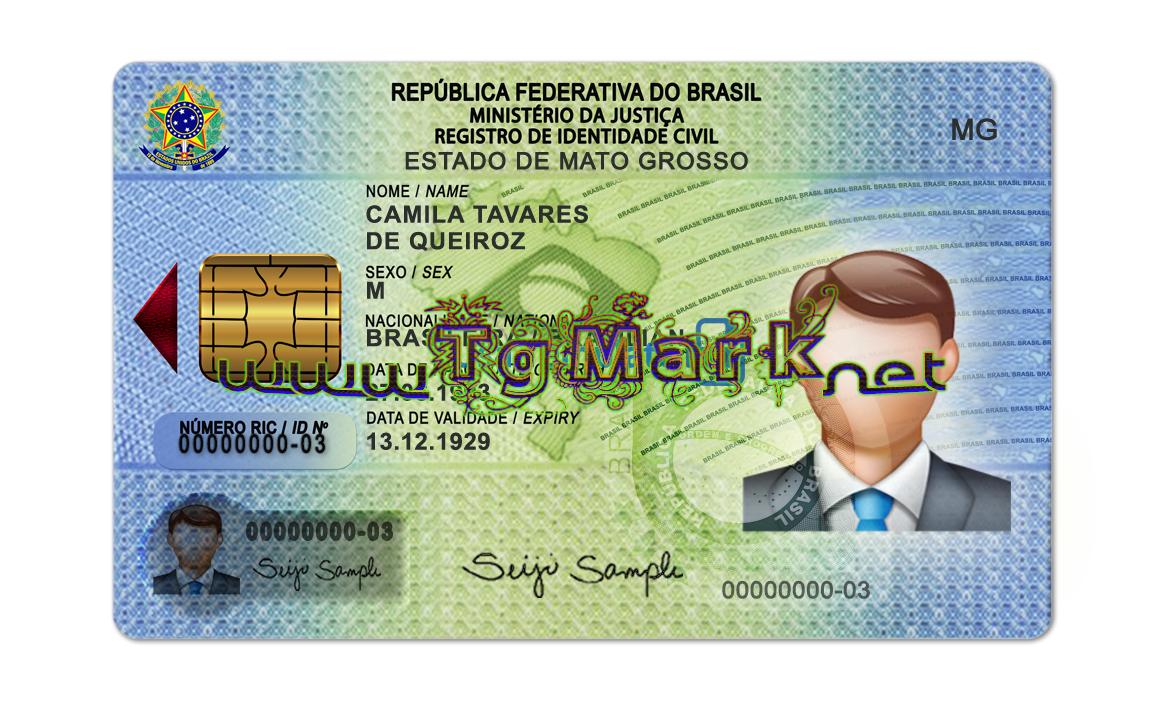 Brazil Id Card Template Psd Psd Adobe Photoshop Full Version Mac Win No Date And No Number Limit In Download Standard And Real Size For Print H