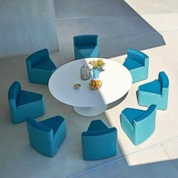Photo of Tavolo da giardino In & Out + 8 sedie a sdraio Varaschin Grande Varaschin