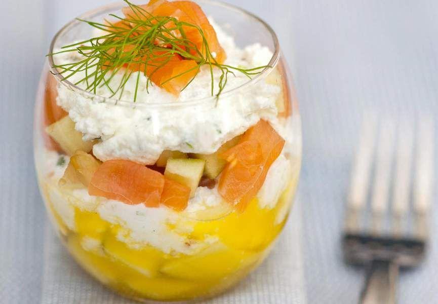 Plus de 30 recettes de verrines salées bluffantes (avec images)   Recette verrine, Verrines ...