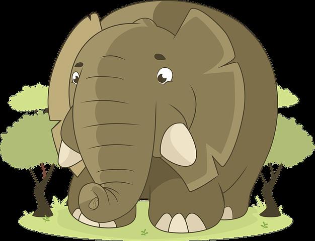 Elefante, Animal, Selva, Savana