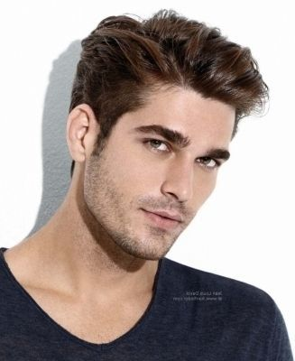 mens hairstyle long on top short on sides pictures