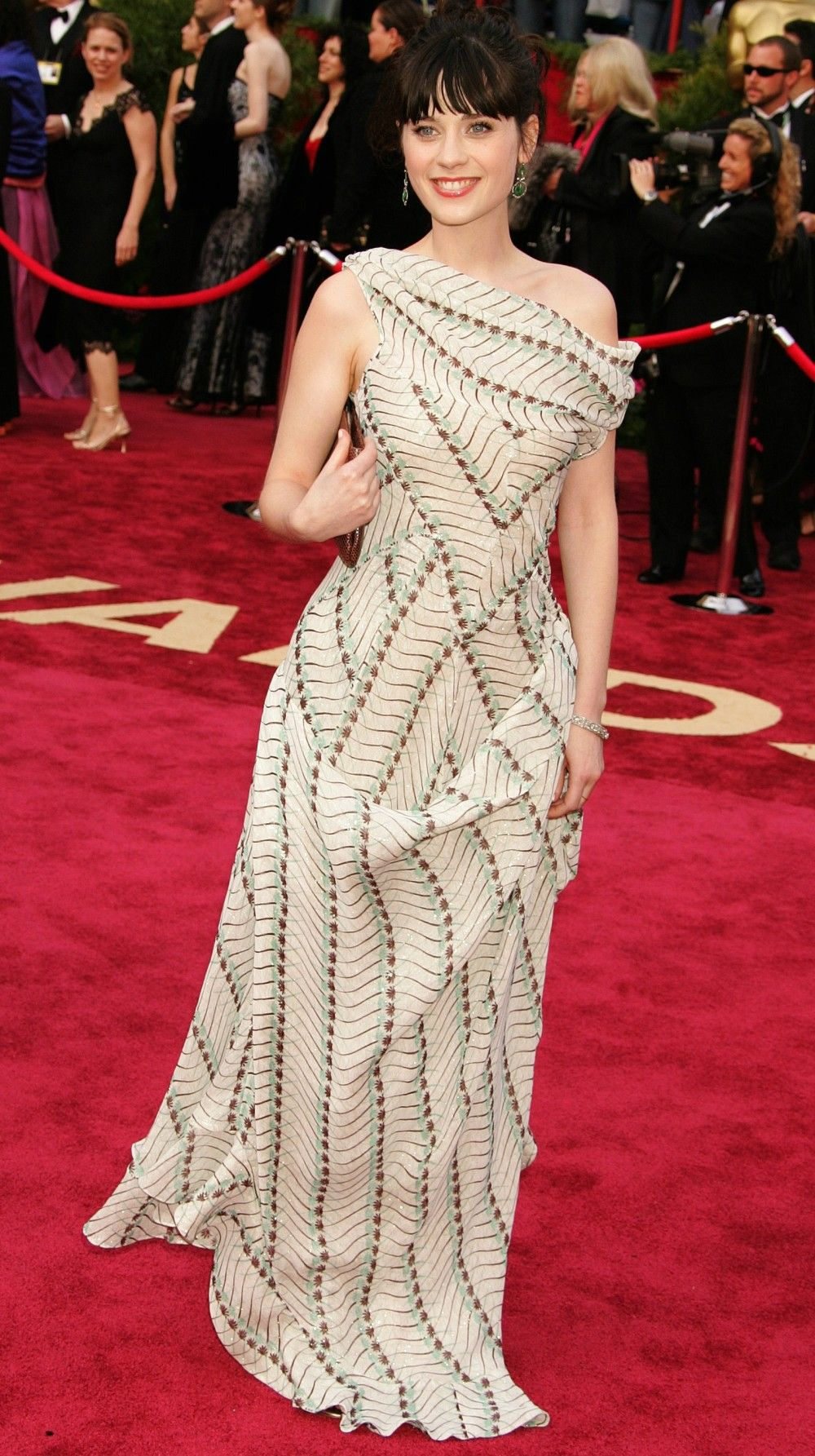 11 Years Of Epic Oscars Red Carpet Dresses Zooey