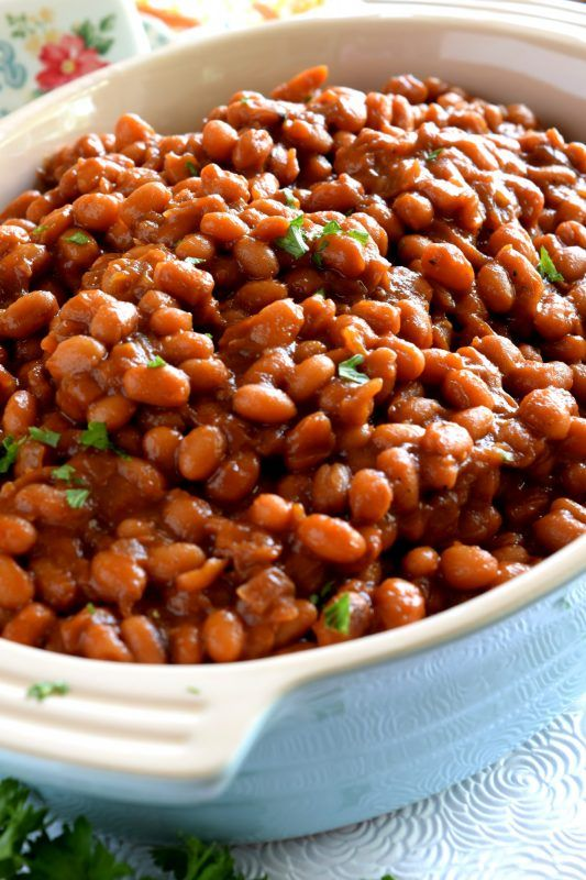 Stovetop Homemade Vegetarian Baked Beans Lord Byrons