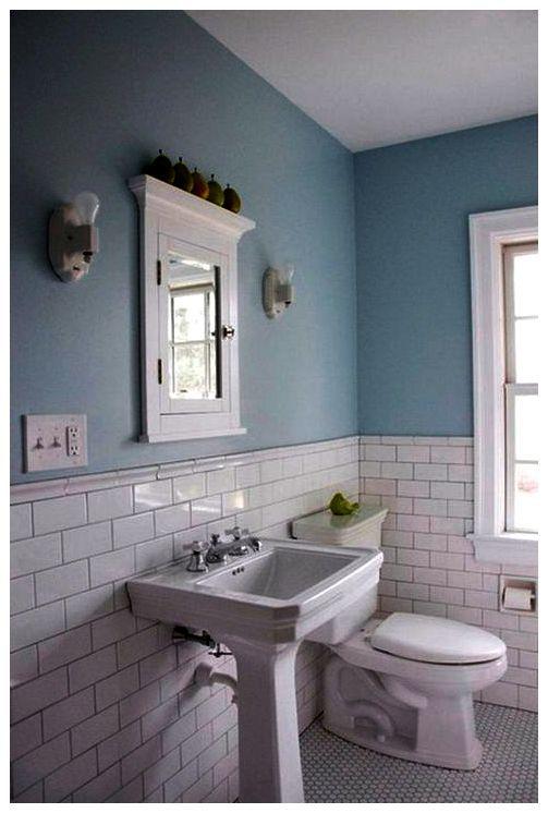 Resultado de imagen de baño azulejo metro | Light blue ...