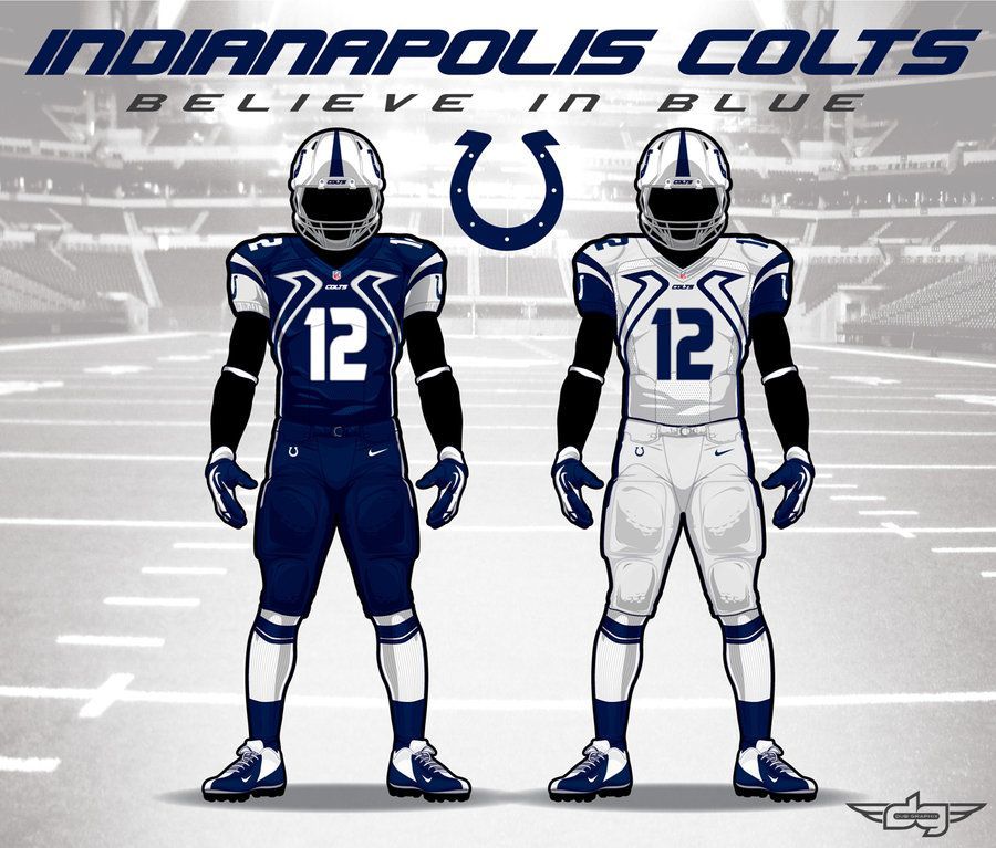 Indy Colts New Uniforms | Indianapolis Colts Under Armour NFL ...